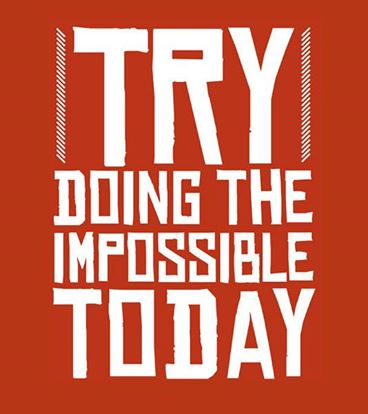 Try doing something / Try to do