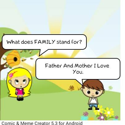 What does FAMILY stand for? FAMILY ย่อมาจากจากอะไร